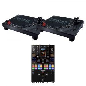 Technics SL-1210 MK7 & DJM-S11 DJ Package