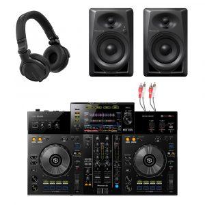 Pioneer XDJ-RR All-In-One DJ Controller & Pioneer DM-40 Package