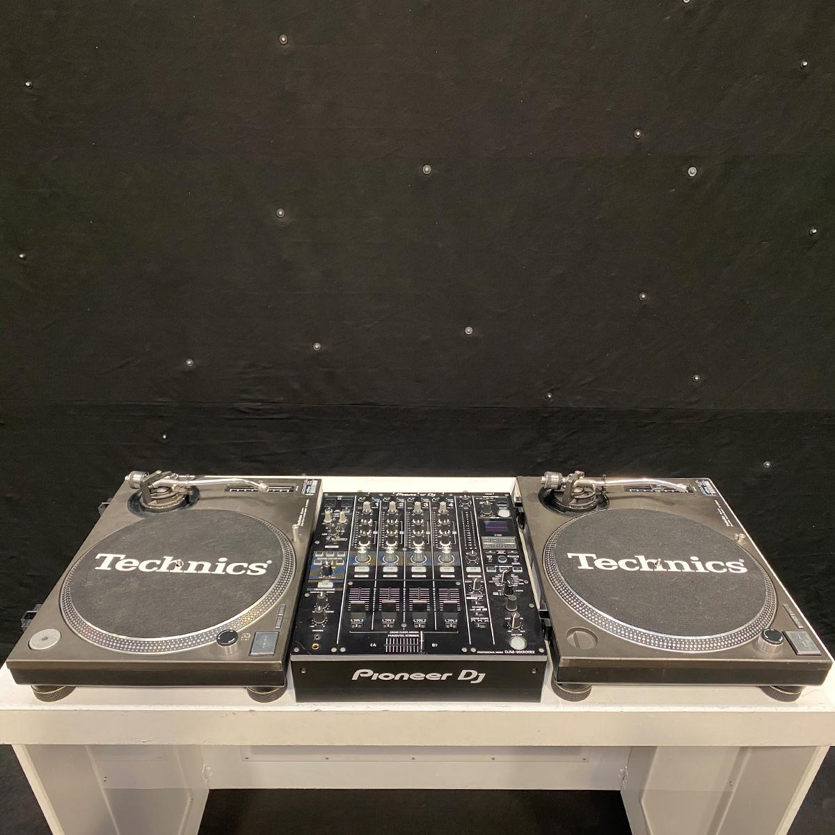 White DJ Pod Hire