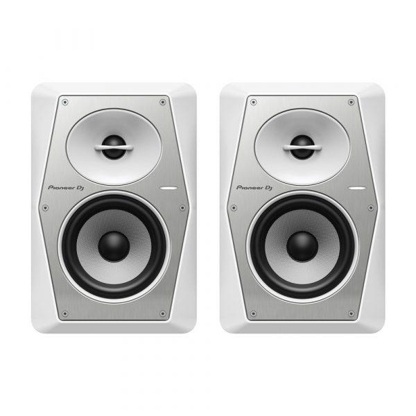 Pioneer DJ VM-50-W Active Monitor Speaker, Pair