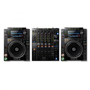 Pioneer CDJ-2000NXS2 & DJM-900NXS2 DJ Package