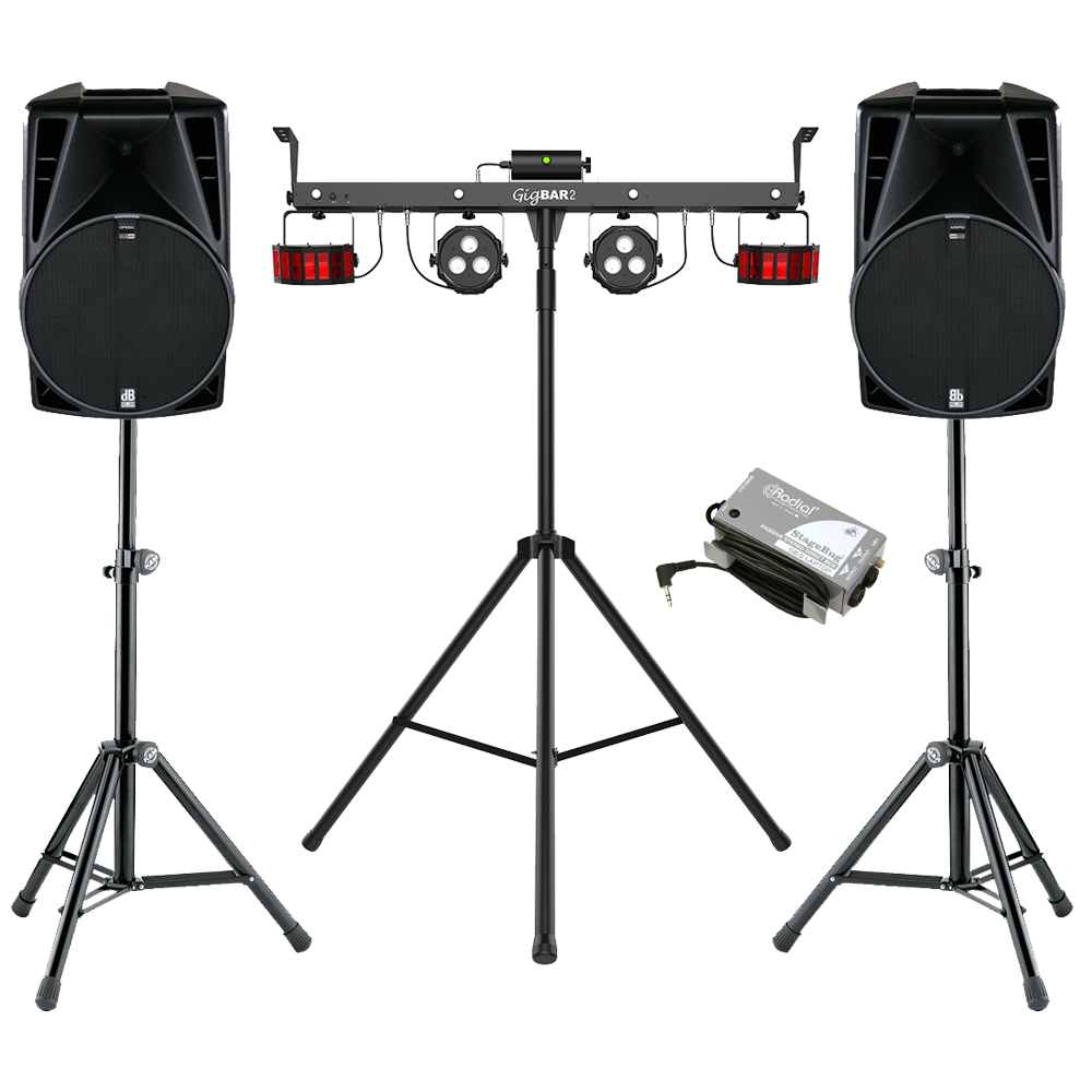Party Sound & Light Package Hire