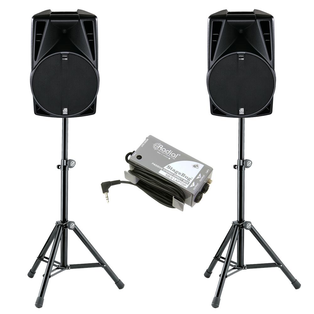 dB Opera 915DX Speaker Hire