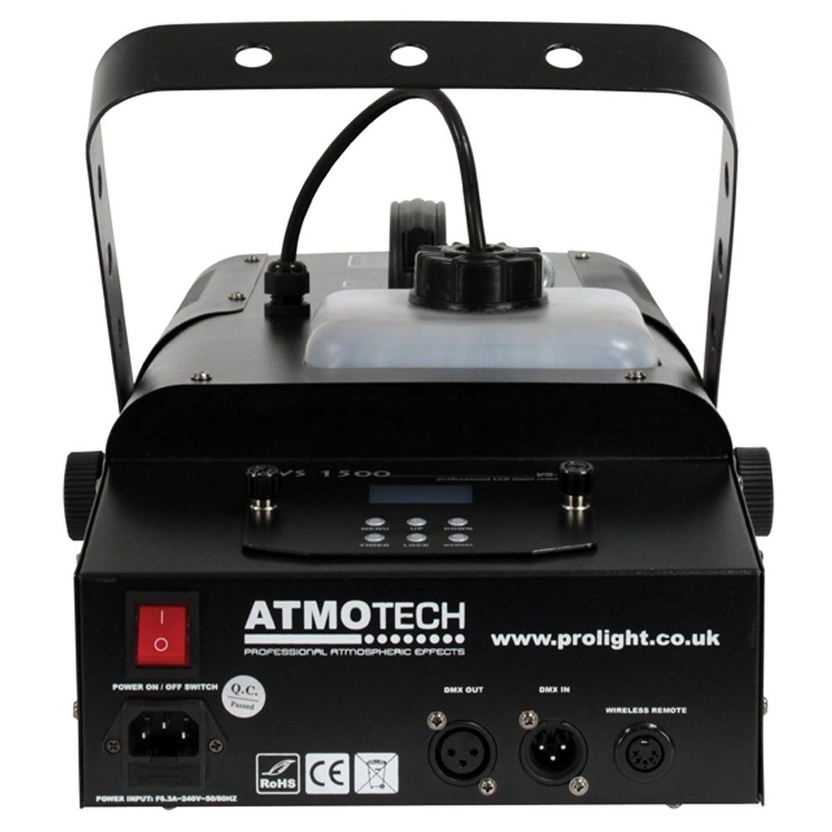 Smoke Machine Hire VS1500 Rear