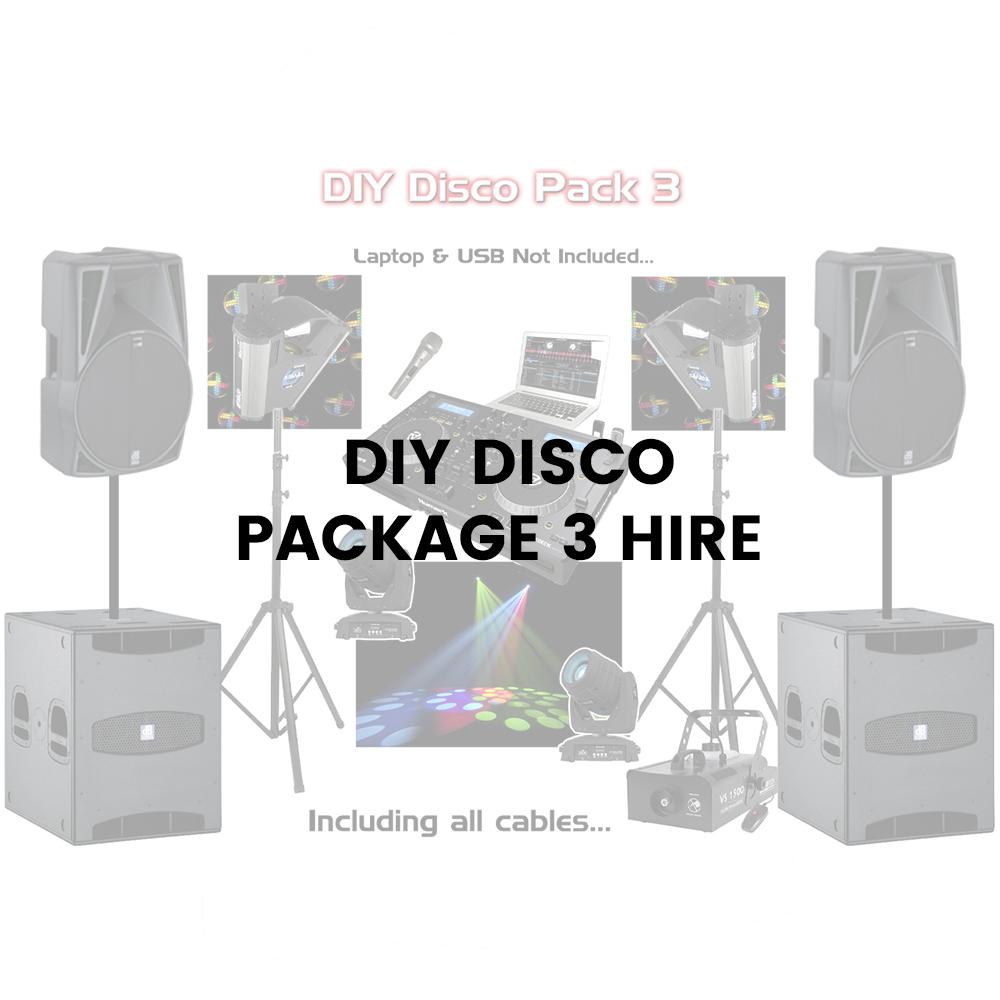 DIY Disco Packages