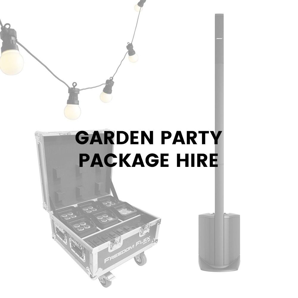 Garden Party Package Hire