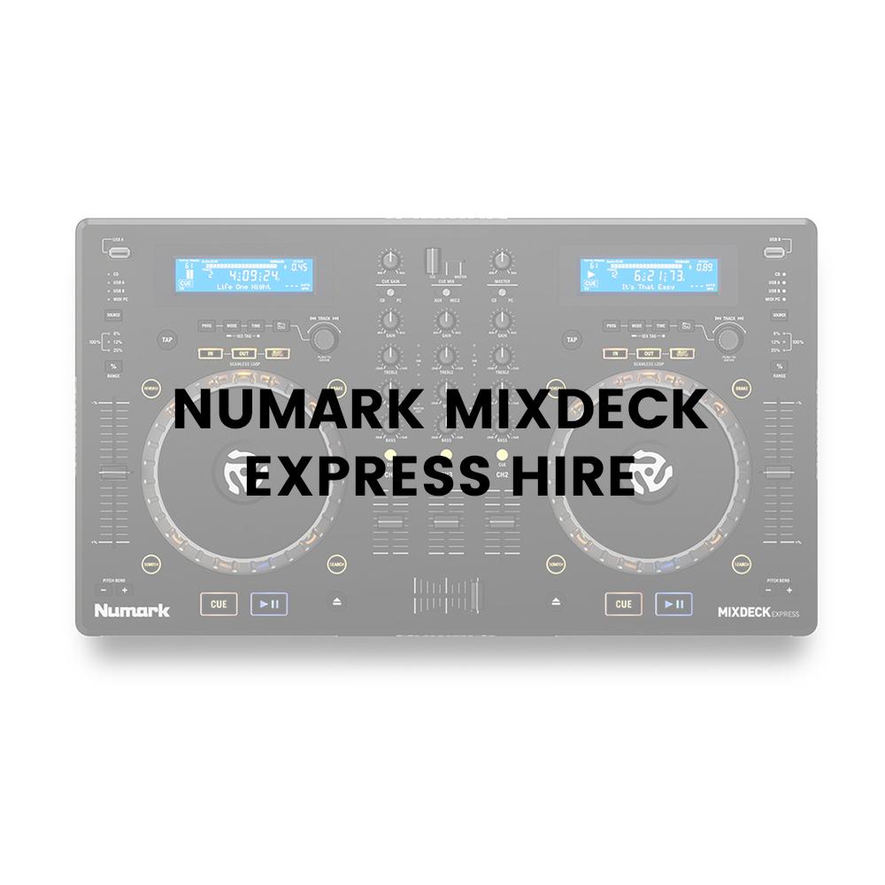 Audio Playback & Mixing Desks