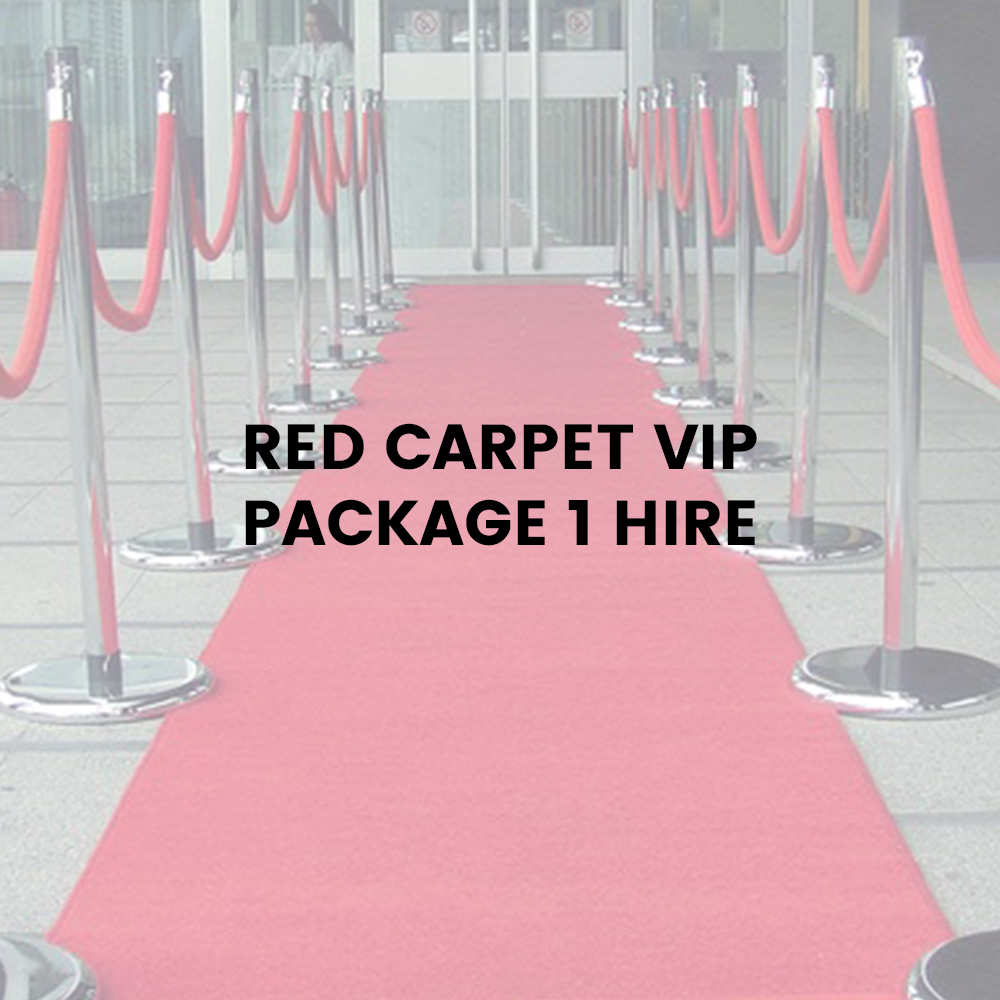 Red Carpet VIP Package 1 Hire