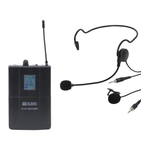 W Audio DTM 800BP Beltpack Kit